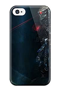 DanRobertse Case Cover Protector Specially Made For Iphone 4/4s Skulls Movies Monsters Predator Creatures Science Fiction Artwork Anime Claws Hunters Sci-fi Art