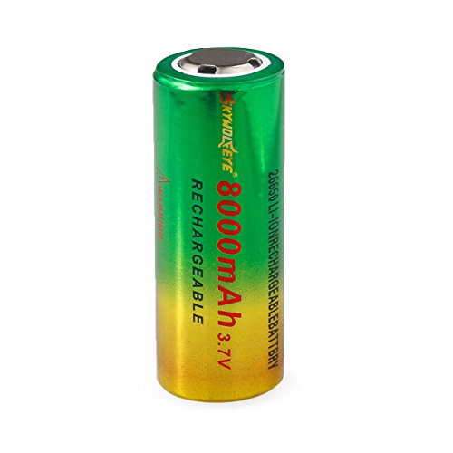 - Hot 3.7V 8800mAh TR26650 Li-ion Rechargeable Battery for LED Flashlight LO
