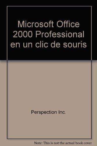 Price comparison product image Microsoft Office 2000 Professional en un clic de souris