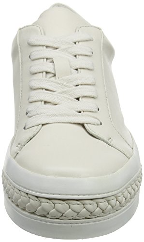 Rachel Collette Braid Zoe Women's Ecru Ecru Sneaker rqBr8nF6