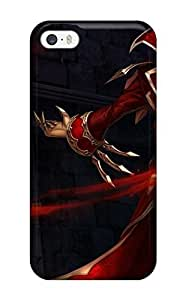 AecMUYo5844PyZXc League Of Legends Video Game League Of Legends Fashion Tpu 5/5s Case Cover For Iphone
