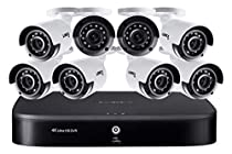 4K Ultra HD 16-Channel Security System with 2 TB DVR and Eight 4K Ultra HD Color Night Vision Bullet Cameras with Smart Home Voice Control