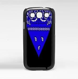 Blue Bandana Hard Snap on Phone Case (Galaxy s3 III)