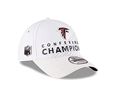 New Era NFL Atlanta Falcons 2016 Conference Champions Trophy Collection Locker Room 9FORTY Hat White Adjustable from New Era