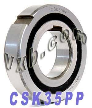 CSK35PP One way Bearing with Keyway Sprag Freewheel Backstop Clutch VXB Brand ()