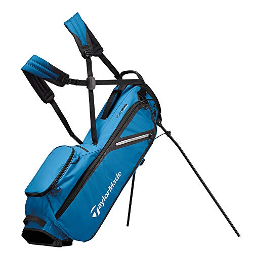 TaylorMade 2019 Flextech Lite Stand Golf Bag, Blue/Black