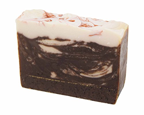 Exfoliating Cocoa Rich Coffee Handmade Artisan Luxury Gift Soap Bar by Score (Cocoa Brandy)