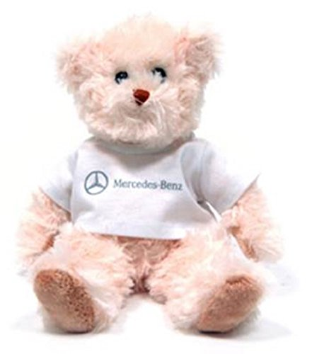 """MERCEDES-BENZ 9"""" Teddy Bear with White Shirt and Classic ..."""