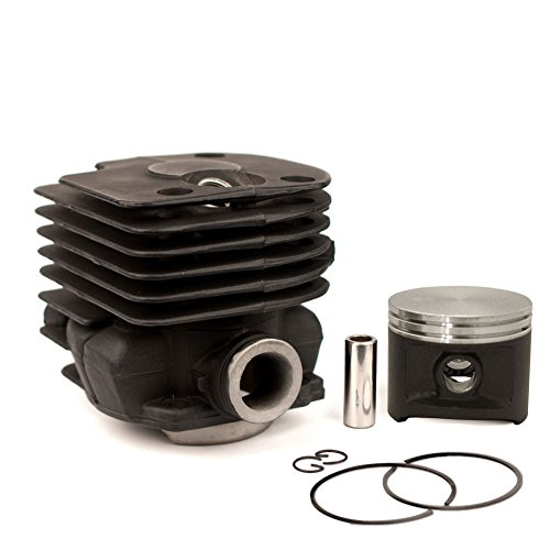 (NWP Piston & Cylinder Assembly (50mm) for Husqvarna 365, 372 X-Torq Chainsaws ()