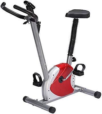HOMCOM Bicicleta Estatica de Spinning Fitness Altura Ajustable ...