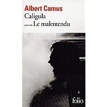 Caligula / Le Malentendu (Folio t. 64) (French Edition)