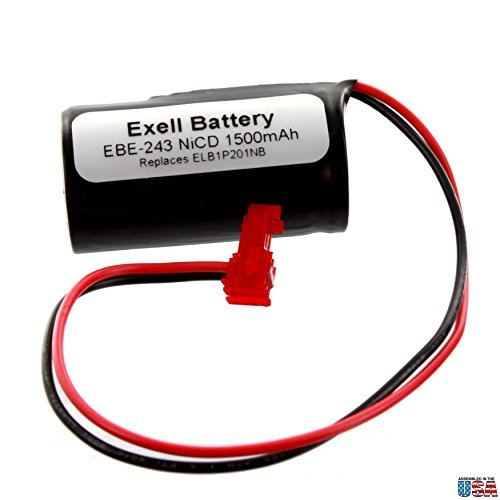 - Emergency/Exit Lighting Battery Fits and Replaces Interstate ANIC1493, Lithonia 1009S00-MZ, Lithonia ELB0320, Lithonia ELB1P201NB Fast USA Ship