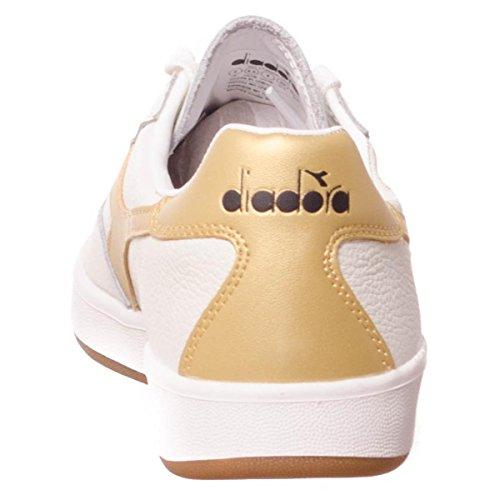 Diadora B Elite Gold L White Gymnastikschuhe Herren rg5vxwqrF