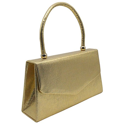 Prom Bridal Lady Handle Bag Envelope Wocharm Wedding Party Purse Clutch Gold Handbag YzqHxT