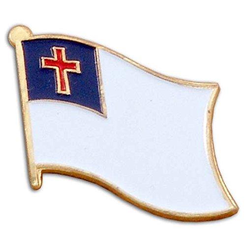 (US Flag Store Christian Flag Lapel)