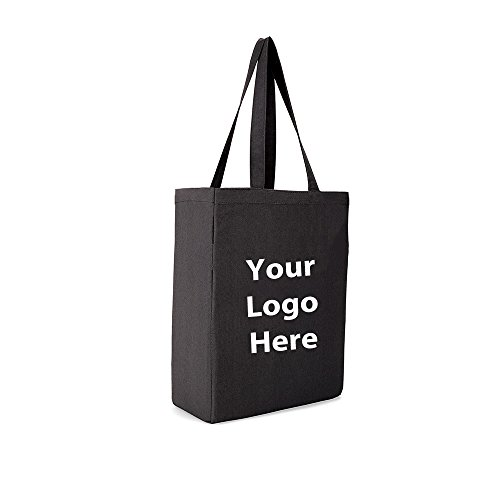 All Purpose Tote - 50 Quantity - $6.80 Each - BRANDED / SCREEN PRINTED with YOUR LOGO / CUSTOMIZED by Sunrise Identity (Image #1)