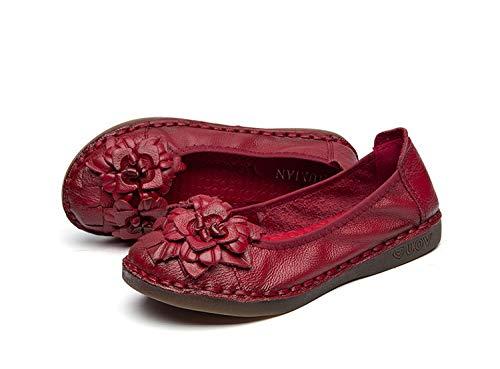 ZHRUI ZHRUI ZHRUI Schuhe (Farbe   Rot Größe   EU 38) c99487