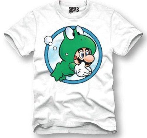 Super Mario Frog Suit T-Shirt (XXL) - Mario Frog