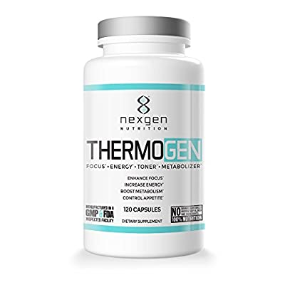 Thermogen Fat Burner Weight Loss Pills - Control Appetite And Boost Metabolism - Energy Supplement