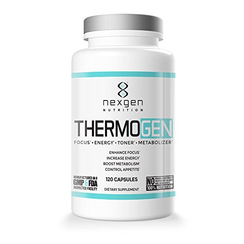 - Thermogen Fat Burner Weight Loss Pills - Control Appetite And Boost Metabolism - Energy Supplement