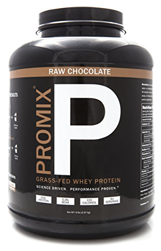 PROMIX #1 vente brut chocolat 100 % California Grass nourris de protéines de lactosérum, 5lb en vrac, sans agent de conservation, mélanges instantanément