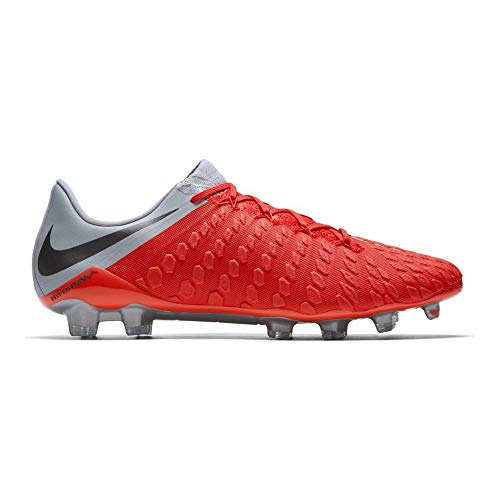 Iii Fg Soccer Cleats - Nike Men's Phantom III Elite FG Cleats (Light Crimson/Metallic Dark Grey) (8)