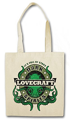 "DARK LOVECRAFT SPIRITS ""J�?HIPSTER BAG - Wars Horror Arkham H. P. Lovecraft Miskatonic Cthulhu"