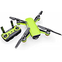 Solid State Lime Decal for drone DJI Spark Kit - Includes Drone Skin, Controller Skin and 1 Battery Skin