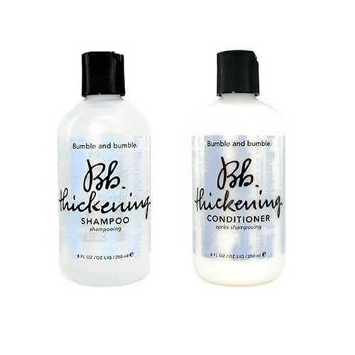Bumble And Bumble Thickening Shampoo 8.5 Ounces & Conditioner 8.5 Ounces - Shampoo Thickening Bumble