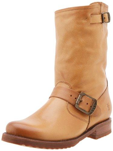 Frye Mujeres Veronica Short Bota Camel Soft Vintage Leather-76509
