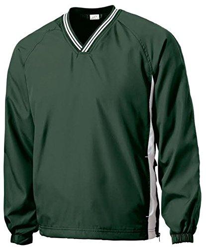 Joe's USA tm - Men's Athletic All Sport V-Neck Raglan Wind Shirts in S ()