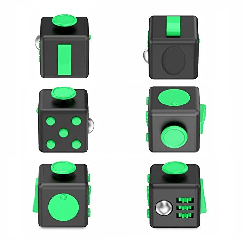 Fidget Cube Toy Relieves Stress Anxiety Toys Helps to Focus For Adults and Children Finger Training - 2