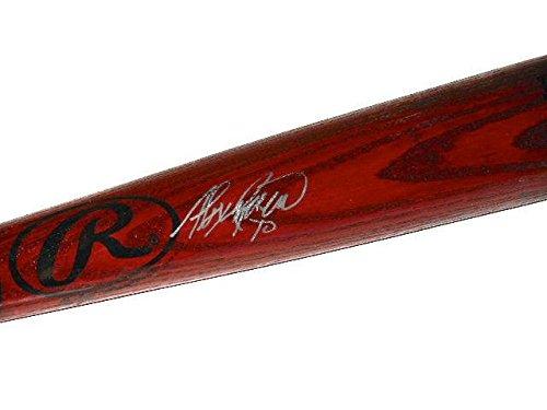 - Alexei Ramirez Signed Bat - W PROOF! - Spring Training Used ! - Autographed MLB Bats