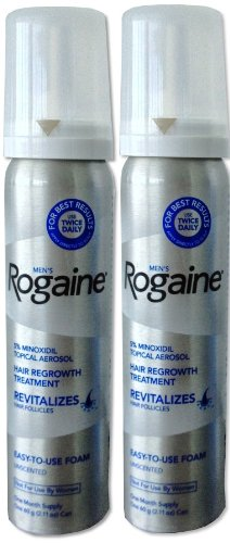 Rogaine Treatment Minoxidil Packaging Authentic