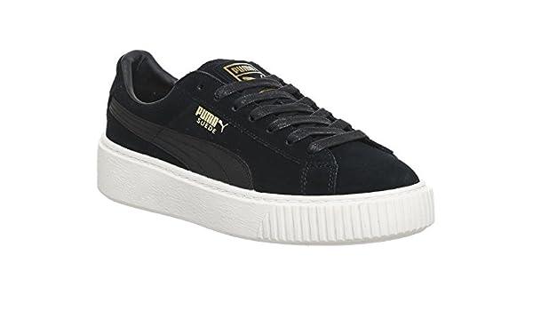 Puma Suede Platform Mono Satin W Calzado: Amazon.es: Zapatos y complementos