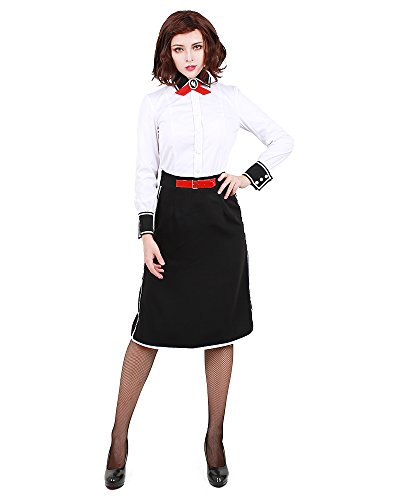 Bioshock Infinite Elizabeth Cosplay Costume (Miccostumes Women's BioShock Infinite: Burial at Sea Elizabeth Cosplay Costume (women s))