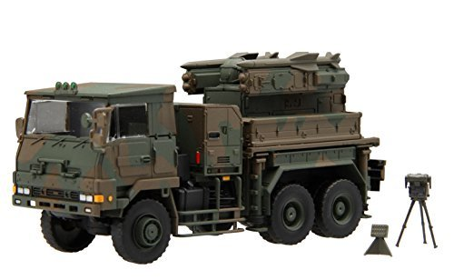 Fujimi model 1/72 Military Series Ground Self-Defense Force type 81 surface-to-air missile launchers C vehicles equipped with plastic model 72M-10 - Launcher Military Type