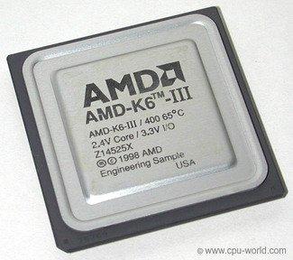 AMD-K6-III/400AFR 2.2V CORE/3....