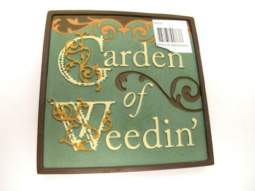 - Garden Plaque