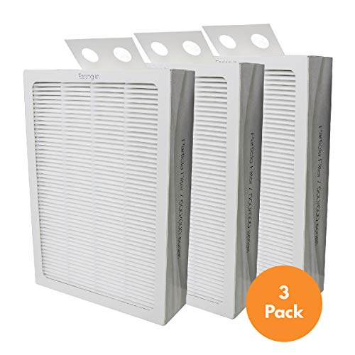 Filter-Monster Replacement Filter Compatible with Blueair 500/600 Series Particle Filter (Smokestop Replacement)