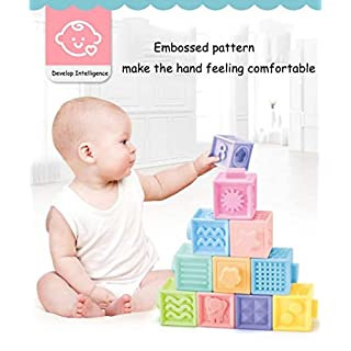 Platinum Quality Traders Soft Baby Blocks for Baby. Educational Building Blocks and Teething Toy.