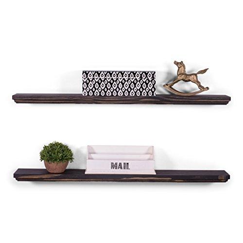 (DAKODA LOVE Wood Floating Shelves - 5.25