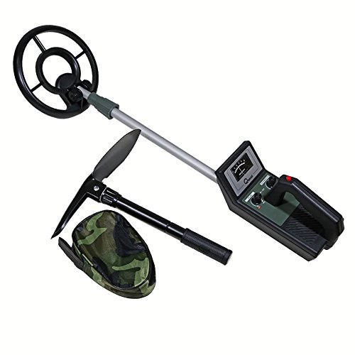 NEW 36'' METAL DETECTOR CLASSIC DISPLAY DEEP TREASURE HUNTER WATERPROOF COIL by Qwest