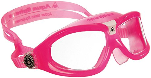 Aqua Sphere Seal Kid 2 Swim Goggle, Clear Lens/Pink - Kids Pink And
