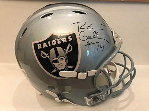 - Robert Gallery Autographed Signed Revolution Oakland Raiders Pro Line Helmet W/Wall Case Psa