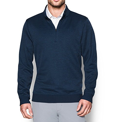 Under Armour Men's Storm SweaterFleece ¼ Zip, Academy/Academy, Large ()