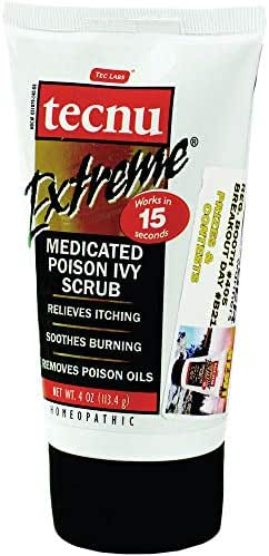 Tecnu Extreme Medicated Poison Ivy Scrub One Color One Size