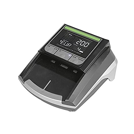 Detector de billetes falsos multidivisa Cash Concepts CCE 112 NEO. Valido para los nuevos billetes: Amazon.es: Oficina y papelería
