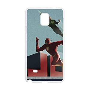 Justice League Blast Off Samsung Galaxy Note 4 Cell Phone Case White Protect your phone BVS_745523