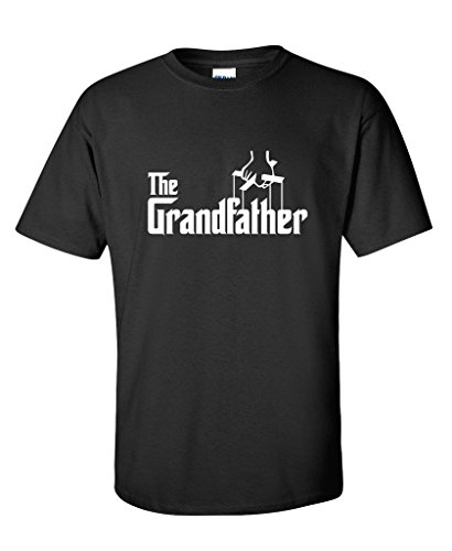 The Grandfather Fathers Day Gift Grandpa Movie Graphic Novelty Funny T Shirt XL Black2